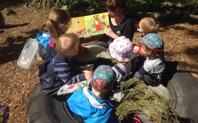 Foresteers Birth to 4 Years Stay and Play Sessions Mondays 3rd June-15th July 10.00-11.30